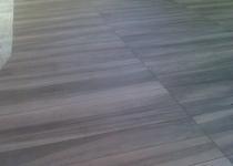 Wood style tile top floor