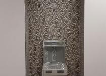Mosaic water fountain